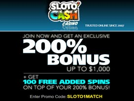 slotocash casino $7777 welcome bonus package plus 300 free spins