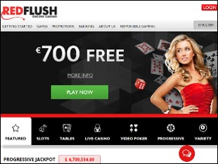 Red Flush Casino Home