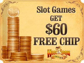 highnoon casino welcome no deposit bonus