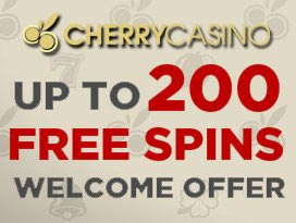 cherry casino welcome bonus spins and win free spins