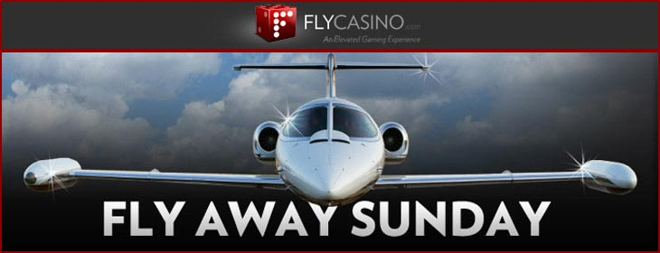 fly casino weekly fly away sunday bonus
