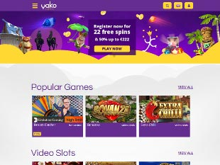 Yako Casino Home